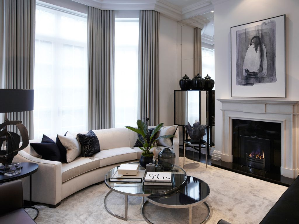 design inspiration london contemporary by louise bradley home. Black Bedroom Furniture Sets. Home Design Ideas