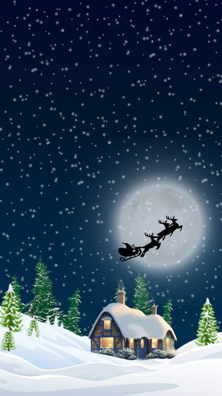 christmas eve wallpaper by newmoon1987 - 30 - Free