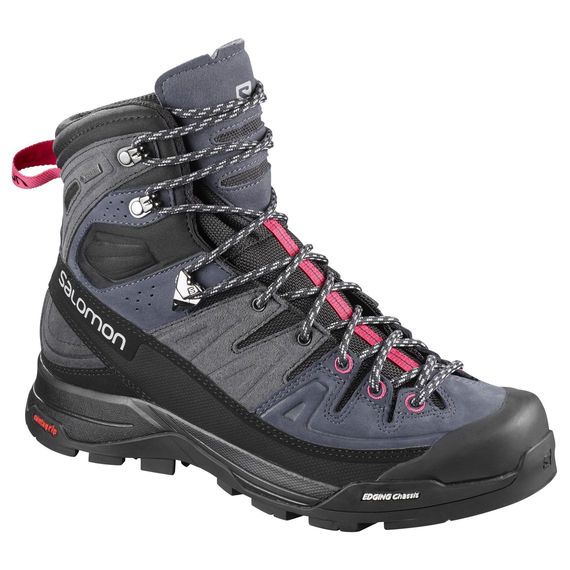 Salomon X ALP HIGH LTR GTX - Walking boots - crown blue/graphite/virtual pink p5JLfe