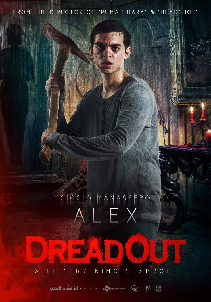 Dreadout Poster Film Indonesia Film Poster Indonesia