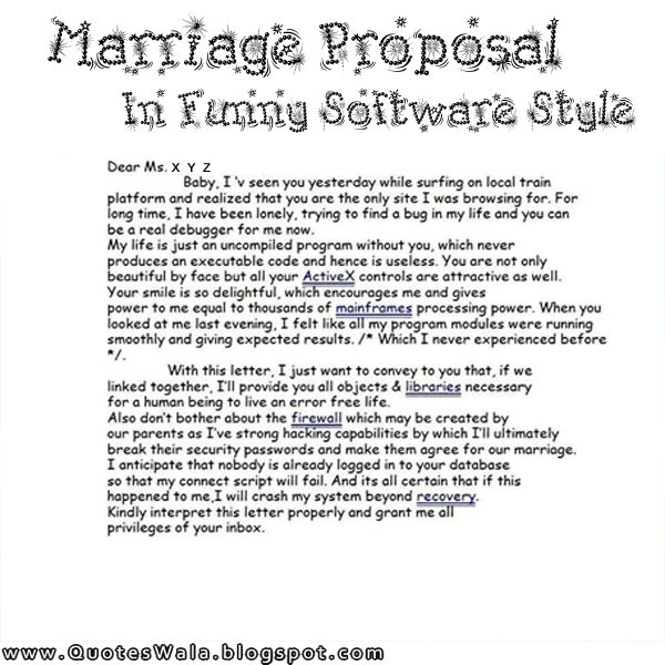 Quotes About Proposal Marriage | Quote About Proposal Marriage