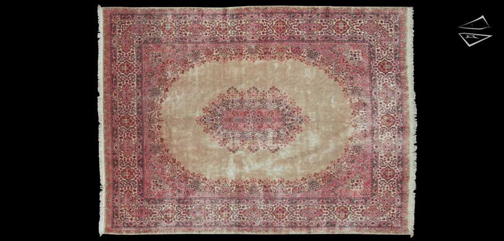 Persian Cyrus Crown Kerman Oversize Carpet 12 1 X 16 1 Kerman Rugs Rugs On Carpet Large Rugs