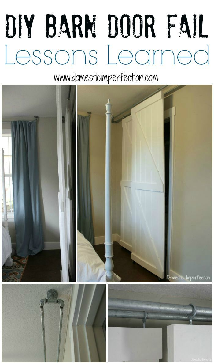 Double Bypass Sliding Barn Door System A Diy Fail