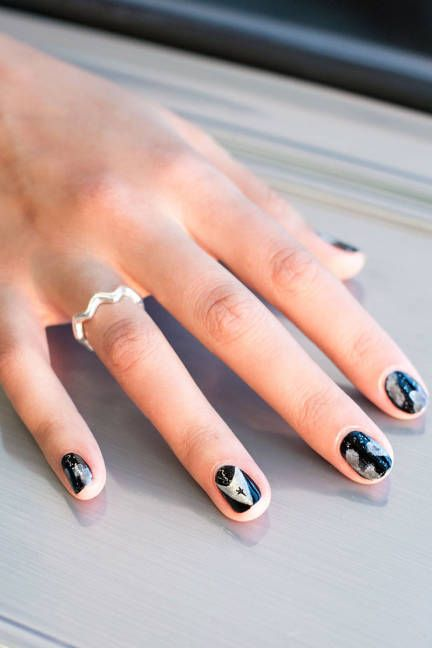 How to do comic-book inspired nails for Halloween: Star Trek