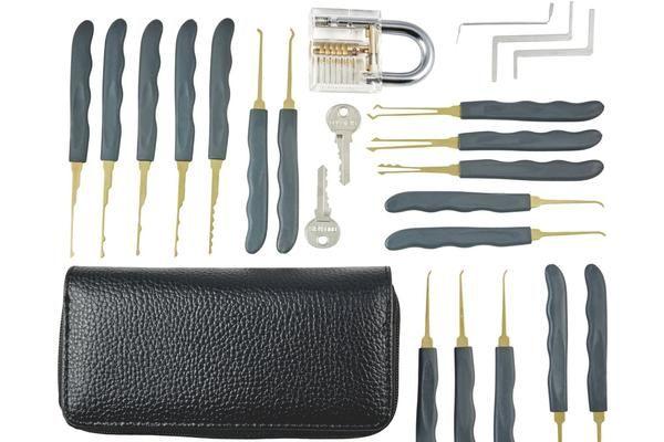 One Of The Best Lock Pick Set Bundle To Improve Your Lock Picking Skill Both For Lock Picking Hobbyist And Professional L Lock Picking Lock Pick Set Locksmith