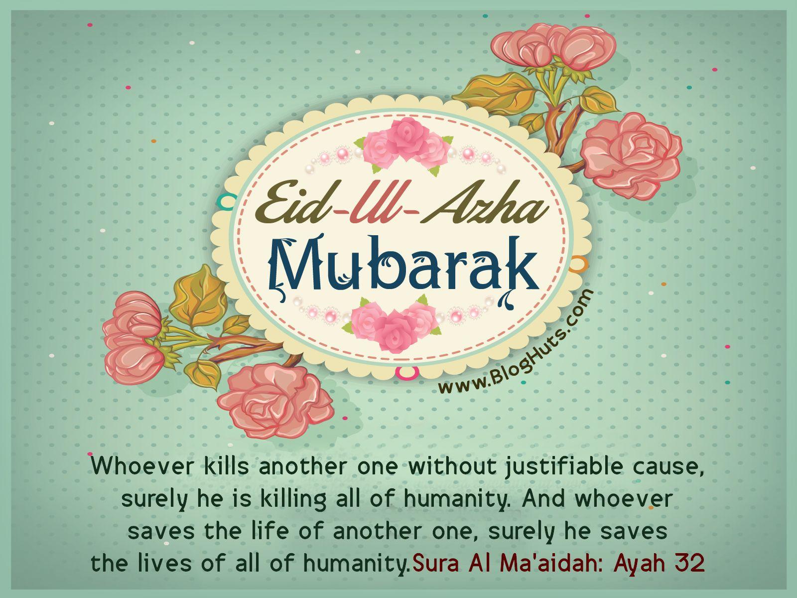 Eid Ul Adha Mubarak Inspirational Quotes Bloghuts