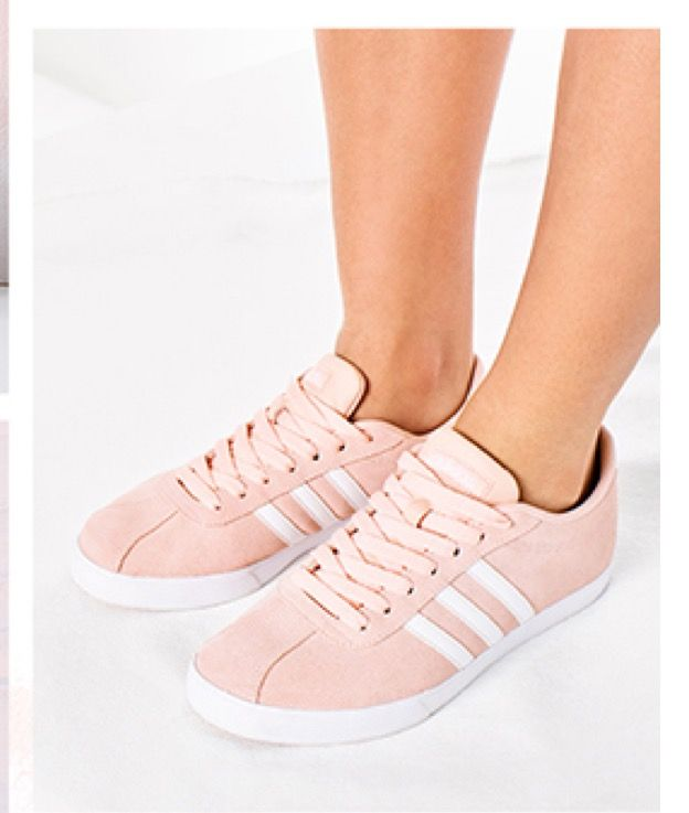 more photos 47724 b8450 Adidas NEO Courtset Sneaker in blush