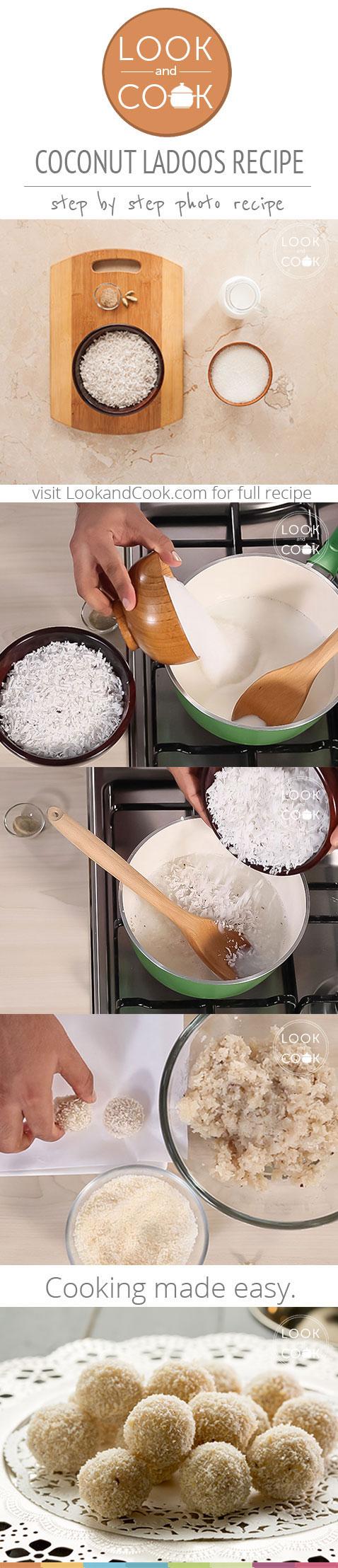 How To Make Coconut Ladoos