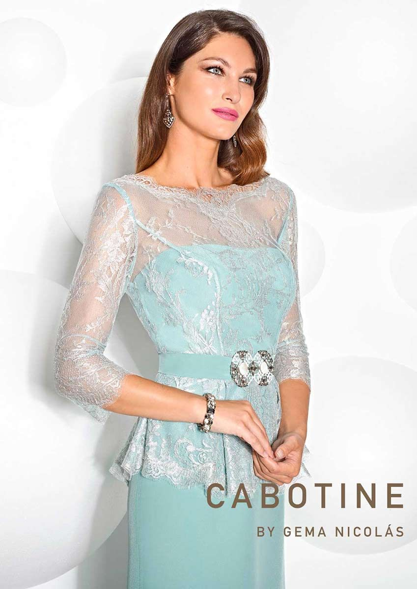 Colección Vestidos de Fiesta Cabotine 2015 - Entrenovias | Vestidos ...