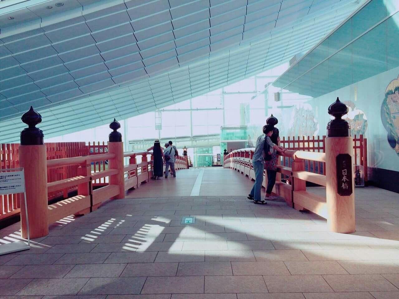 Inside Haneda Airport, Tokyo Japan