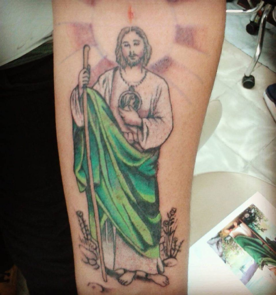 Completa Colección De Fotos De Tatuajes De San Judas Tadeo Sus