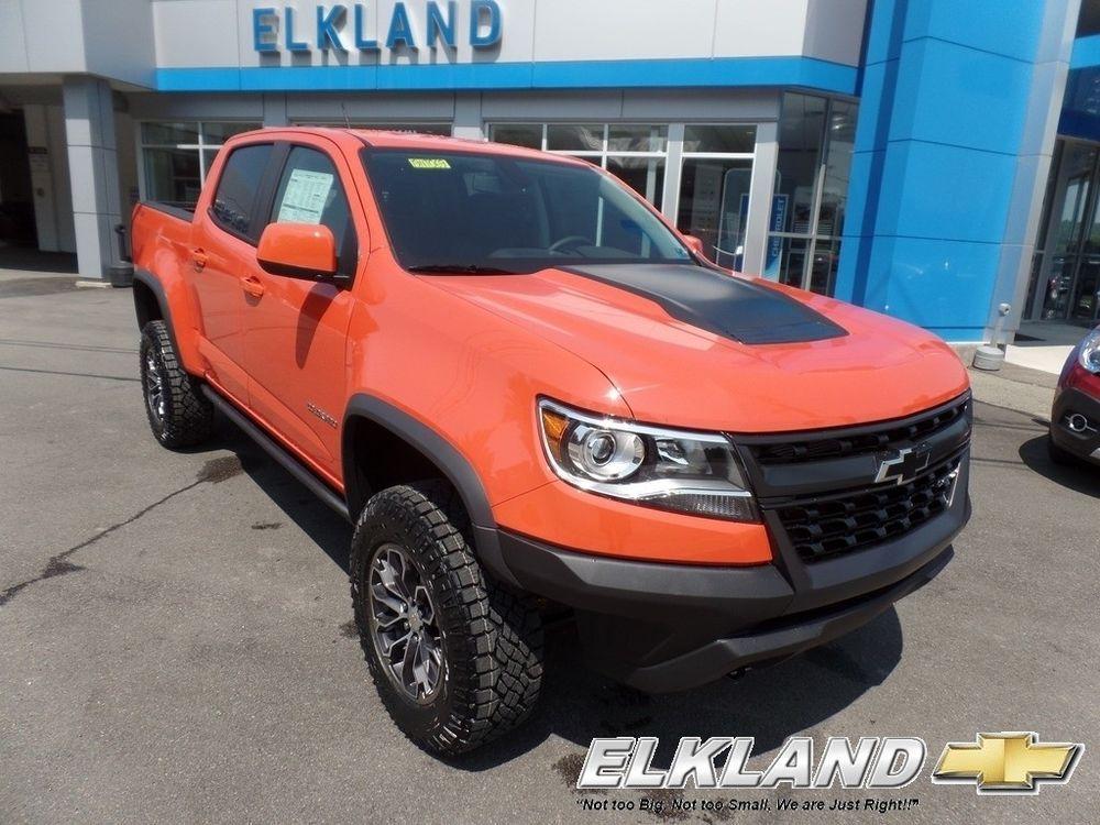 For Sale Chevrolet Colorado Zr2 Crush Orange Nav Msrp 45085 Zr2