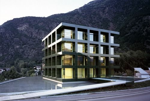 Werner Tscholl - Selimex Office, Laces 2005. Via, photos...