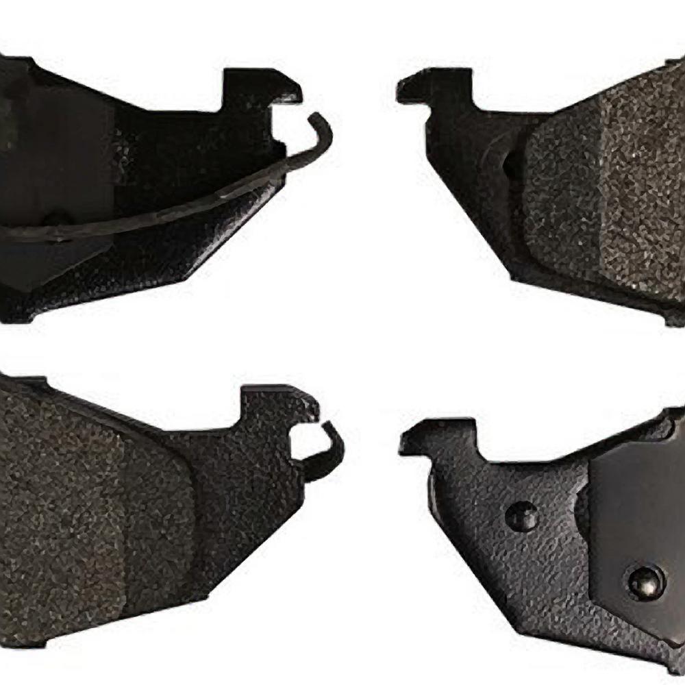 Monroe Brakes Total Solution Ceramic Brake Pads 1993 1998 Nissan Quest Dx576 Ceramic Brake Pads Ceramic Brakes Brake Pads