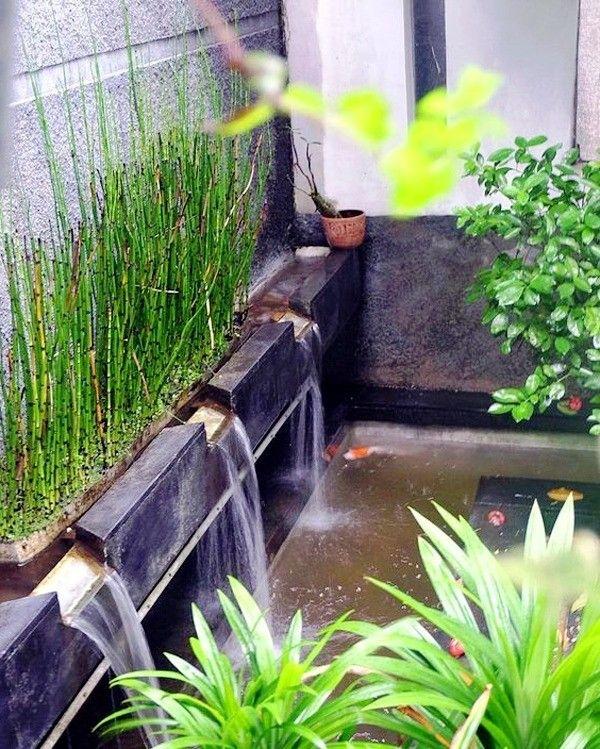 10+ frische Teiche zum Entspannen im Garten #garten #gartenpool #wasserfall #pool #poollandscapingideas #ideen #poolimgartenideen