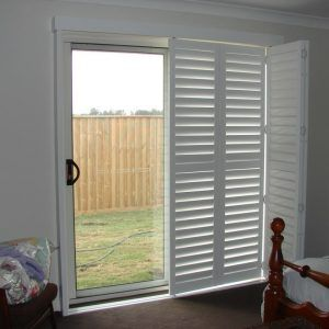 Plantation Sliding Closet Doors