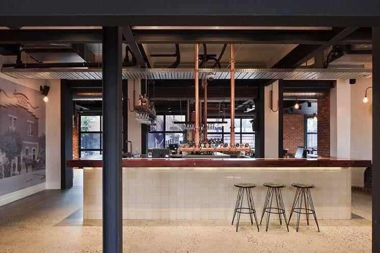 Beatrix Rowe Interior Design Living Room Decor Inspiration Industrial Style Kitchen Restaurant Design