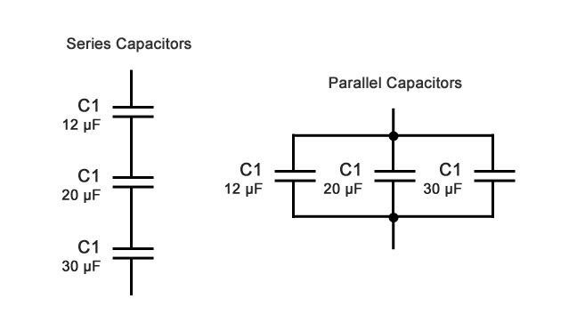Capacitive Reactance How To Solve Series And Parallel Capacitors Capacitors Circuit Theory Solving