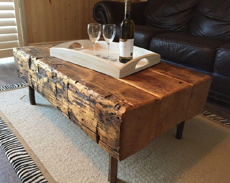 rustic wood furniture and decor ideas