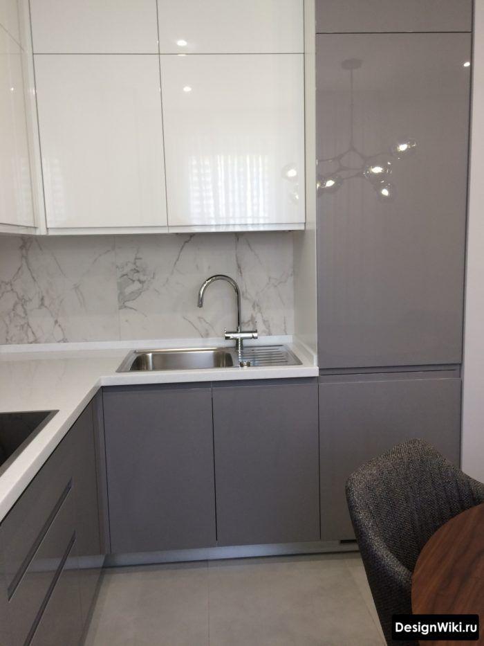Кухня 9 кв.м: 112 Фото (реальные) и 8 идей планировки и ...