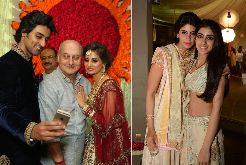 Bollywood Bride Naina Bachchan And Kunal Kapoor S Mumbai Wedding Reception