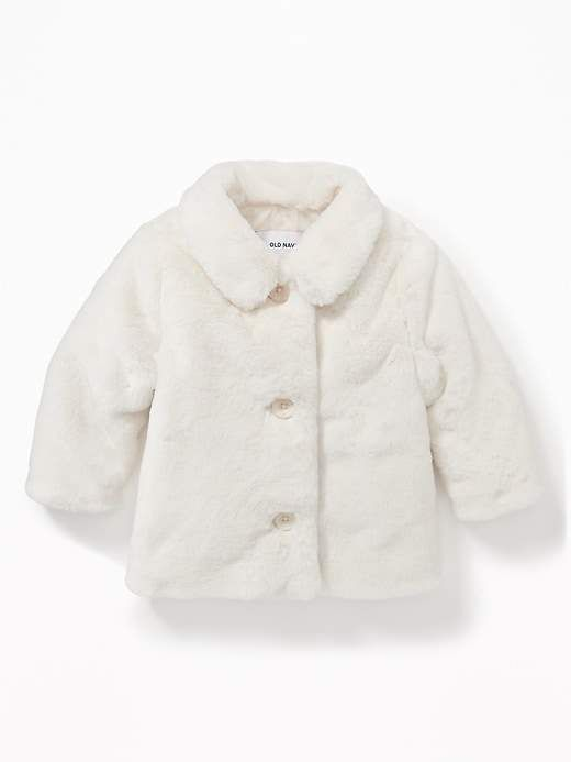 fed867972 Old Navy Faux-Fur Jacket for Baby | Products | Faux fur jacket, Baby ...