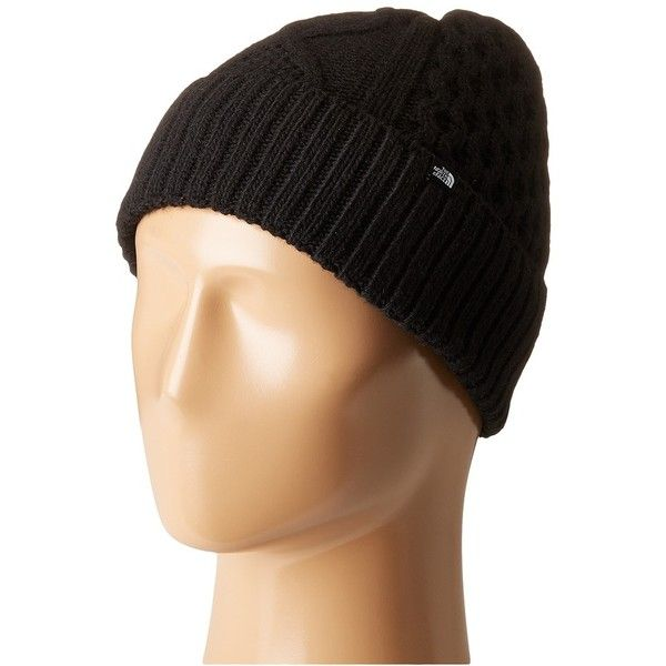 ec5317f7482 The North Face Lambswool Beanie (TNF Black) Beanies ( 30) ❤ liked on  Polyvore featuring accessories