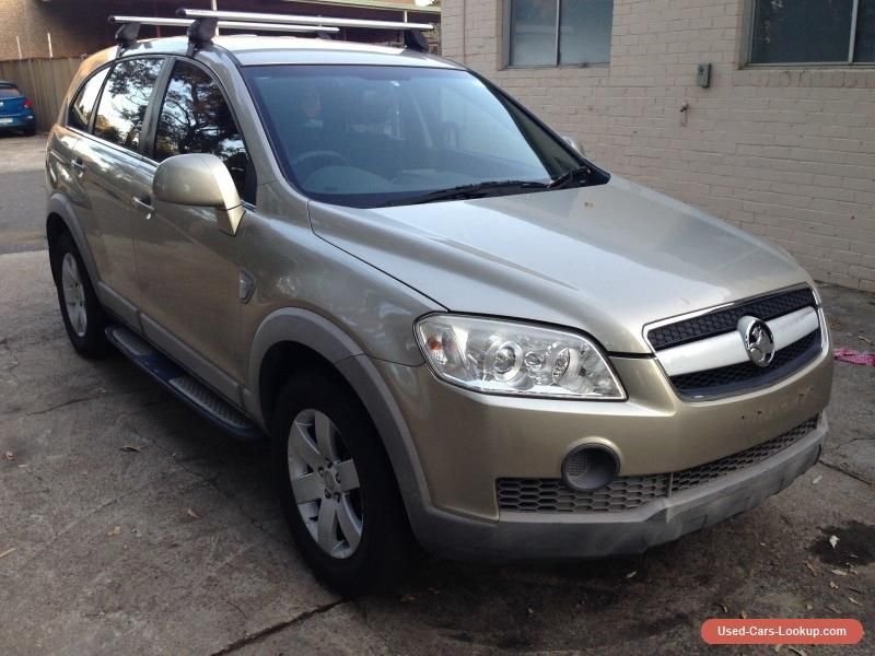 HOLDEN CAPTIVA CX 3.2 LITRE V6 AUTOMATIC ENGINE DAMAGE NOT ON WOVR ...
