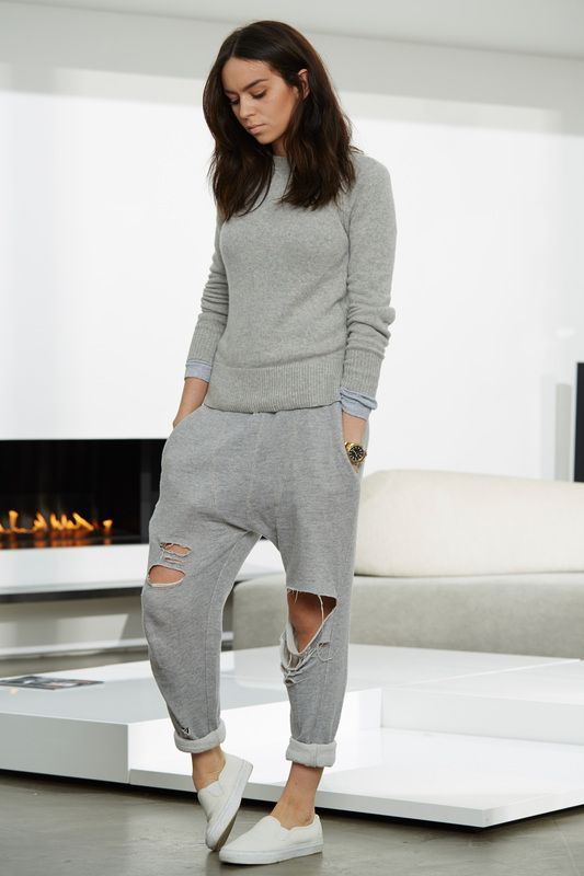 How to stylishly wear sweatpants for teens ...