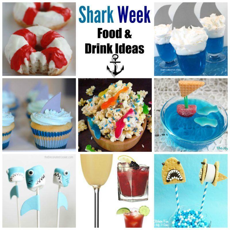 Shark Week Food and Drink Ideas #sharkweekfood Shark Week Food and Drink Ideas - A Cup Full of Sass #sharkweekfood Shark Week Food and Drink Ideas #sharkweekfood Shark Week Food and Drink Ideas - A Cup Full of Sass #sharkweekfood