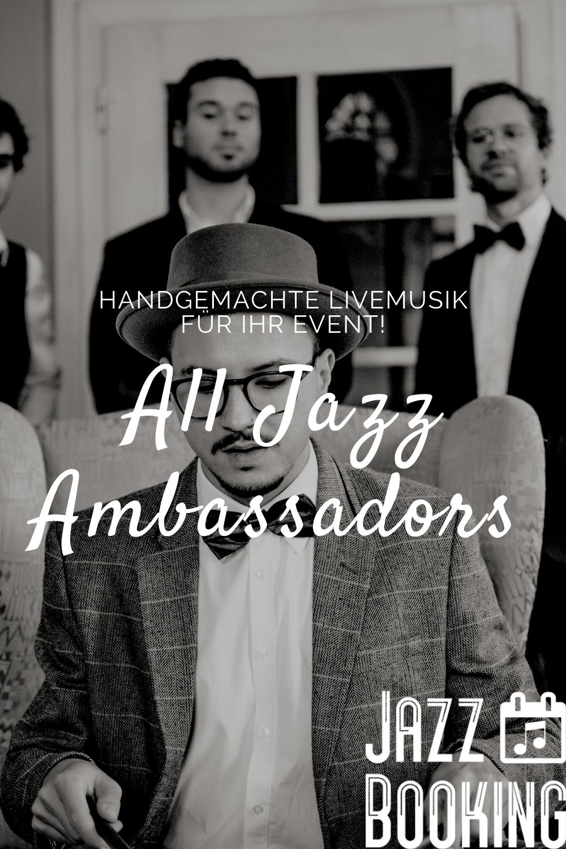 Jazzband Fur Hochzeiten Und Firmenfeiern Jazz Livemusik Lounge Musik