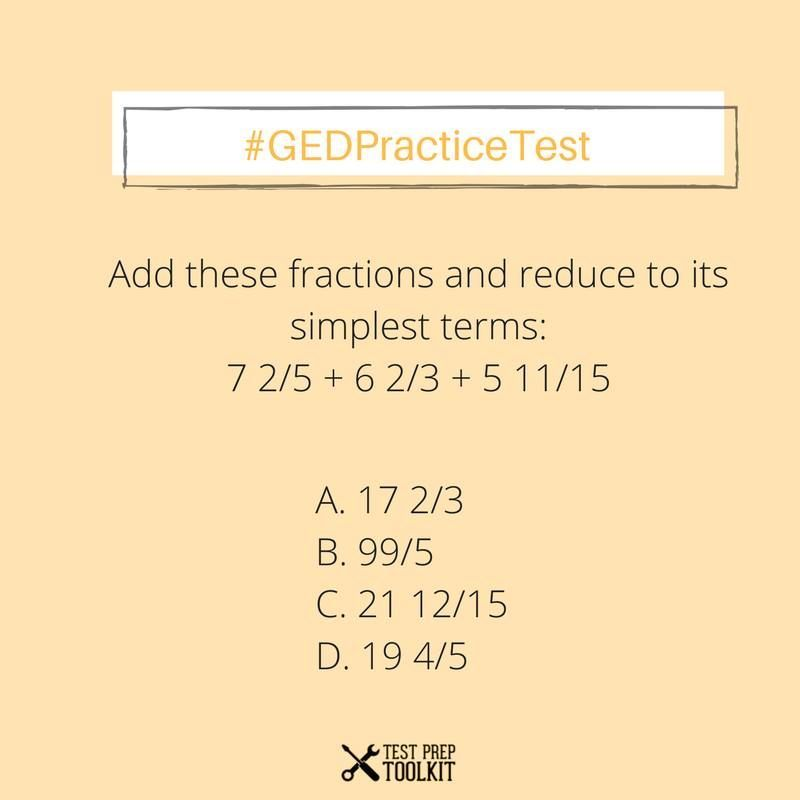 Math Practice Test! Comment your answer below! Check our free ...