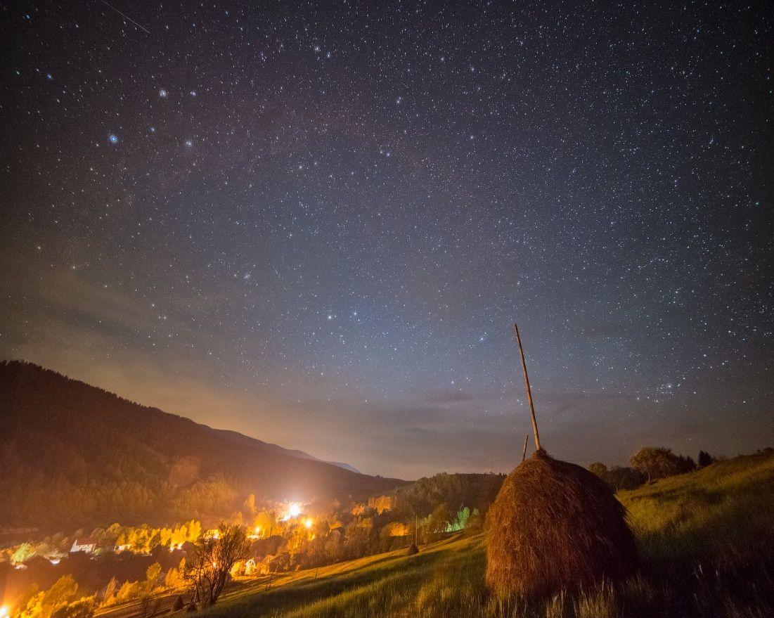 Поздравляем, картинки со звездным небом осень
