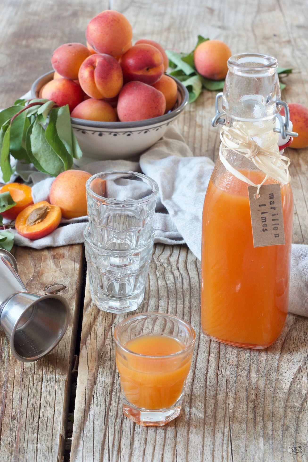 Marillenlimes - Aprikosenlimes - Rezept - Sweets & Lifestyle