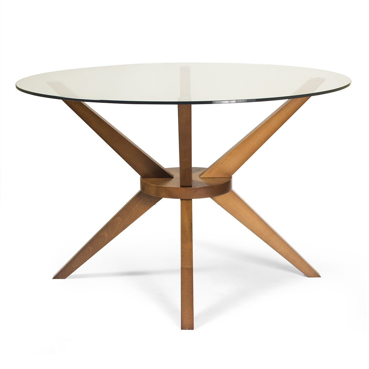 Magna round glass dining table someday office pinterest dining