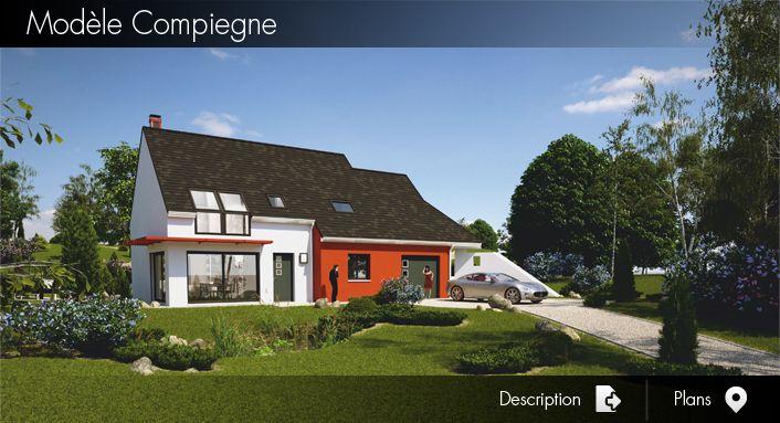 Modèle et Plan de Maison Moderne BBC Modèles et plans de maison - Modeles De Maisons Modernes