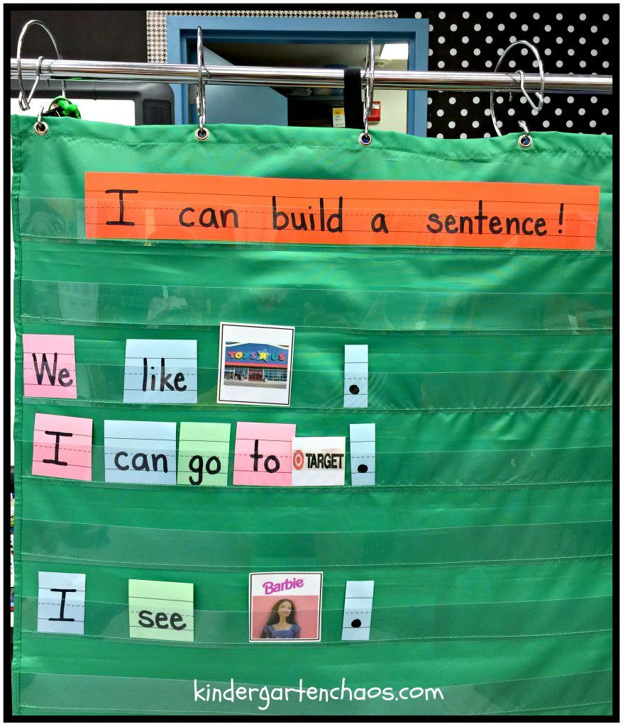 Teaching Kindergartners How to Write a Sentence More