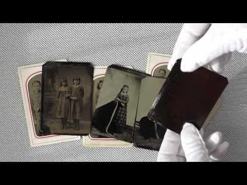 Tintypes: what a Tintype looks like. Ferrotipia.