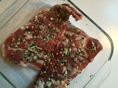 Photo of garlic rosemary lamb riblets {the kosher foodies}