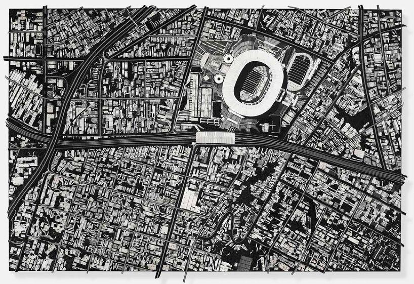 Damien Hirst construye ciudades con imperdibles y bisturís   The Creators Project