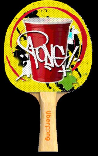 Flipp D Designer Ping Pong Paddle Dengan Gambar