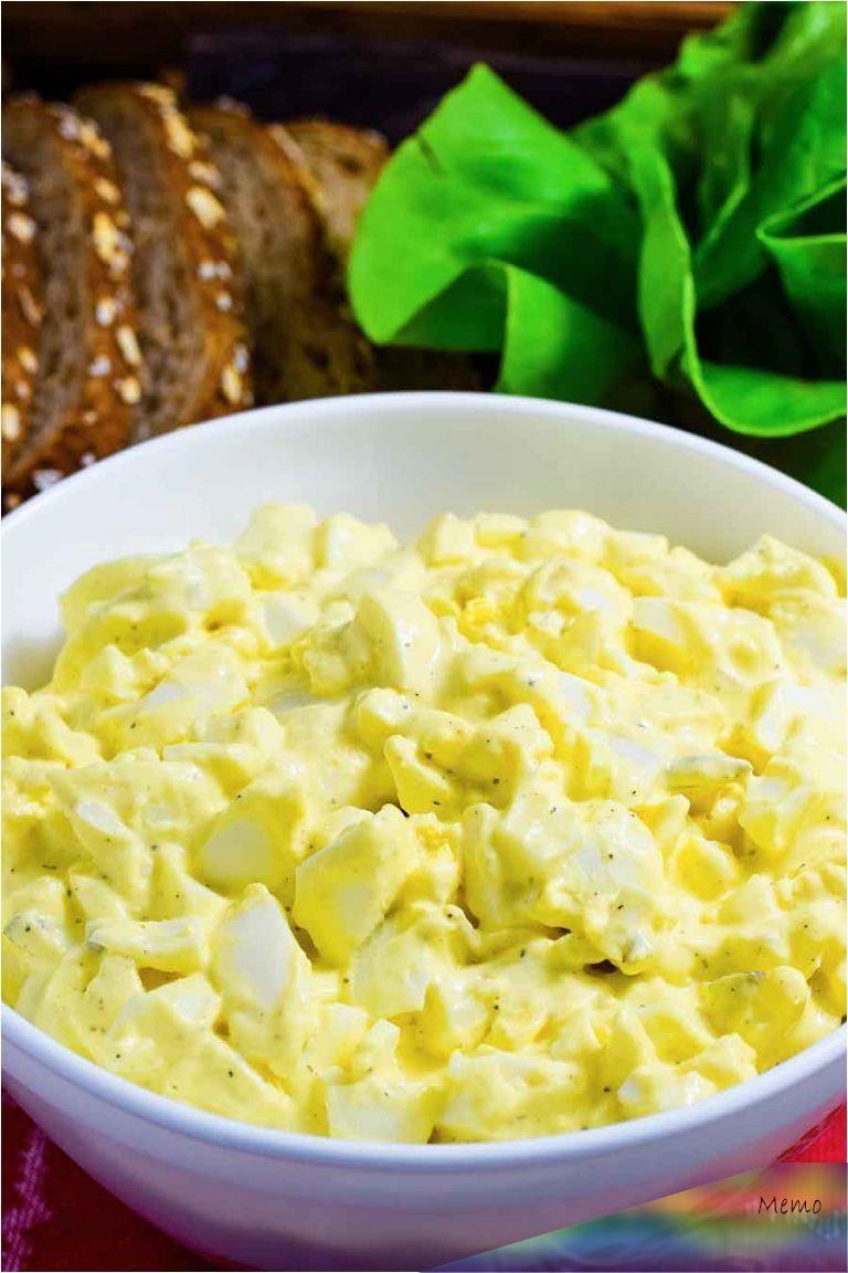 Egg Salad Recipe Mayo Mustard Relish
