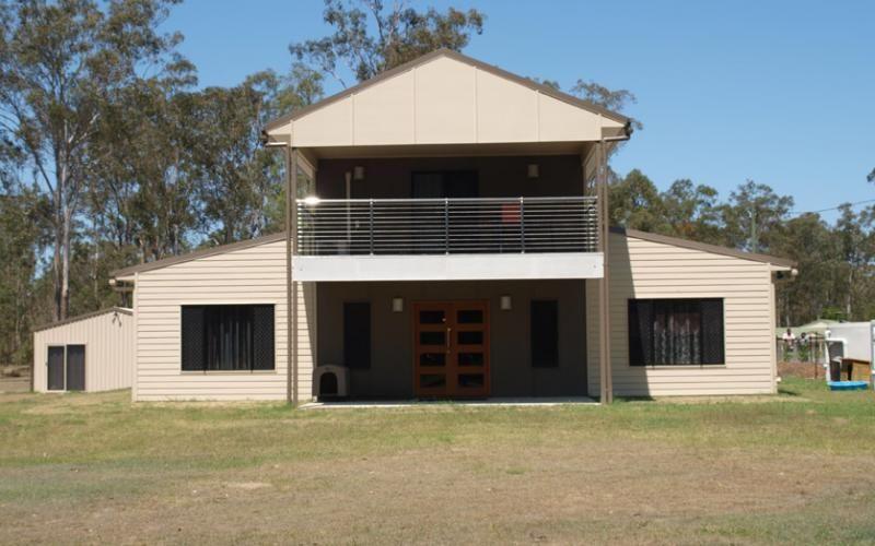 Lovely Country Steel Kit Villa w/ Verandah & Balcony (HQ