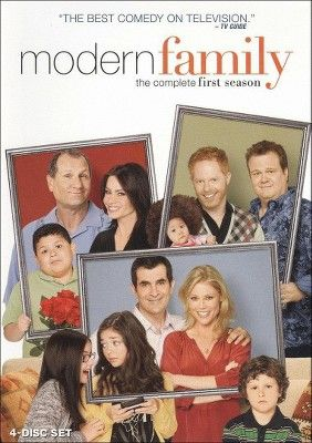 Modern Family The Complete First Season 4 Discs Modern Family Season 1 Modern Family Family Poster