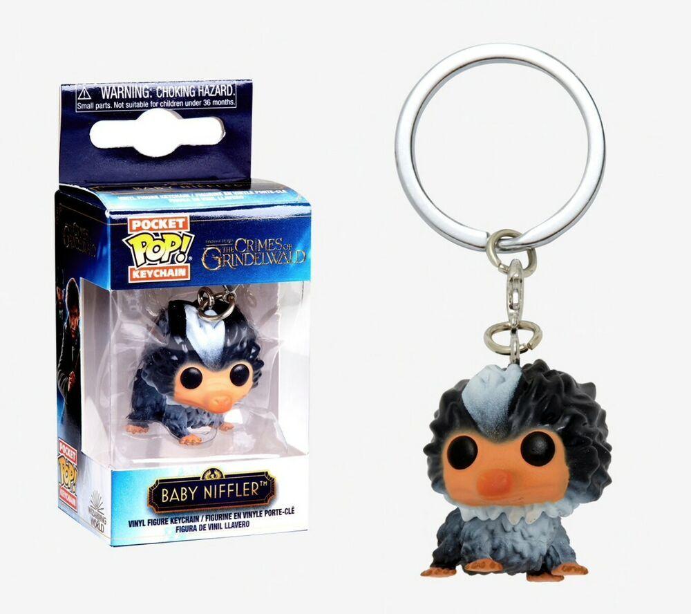 Funko Pocket Pop Keychain The Crimes Of Grindelwald Baby Niffler Grey Harrypotter Harry Book Funko Crimes Of Grindelwald Niffler
