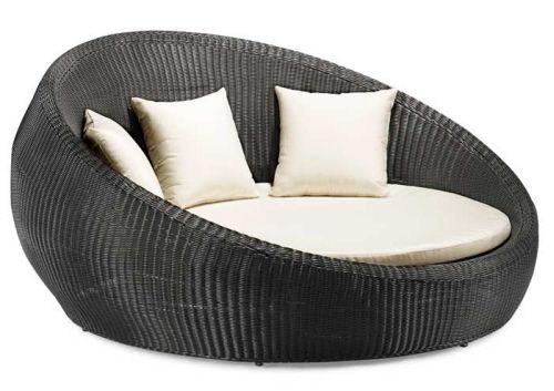 Outdoor Bed, Round Lounge Chair Outdoor Cushions