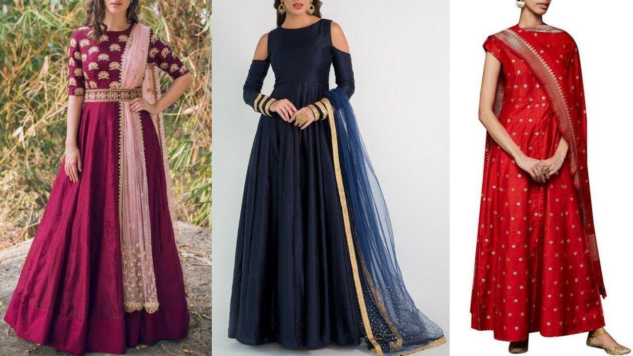 simple 2018 new dress design
