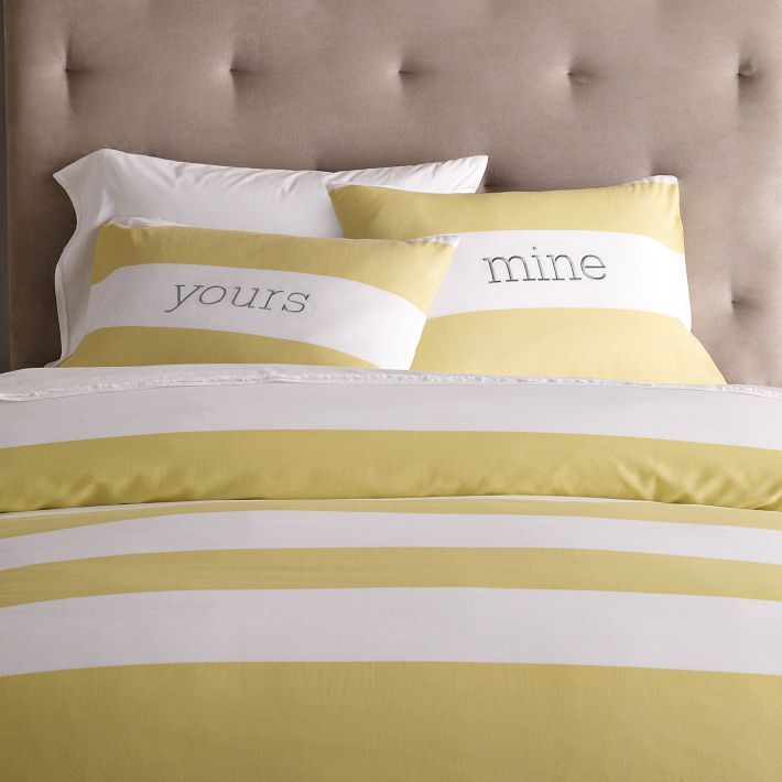 Yours + mine pillow cases