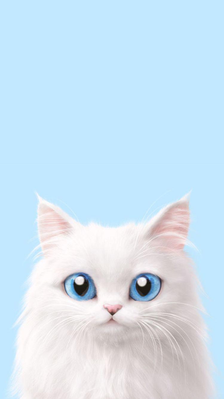 Pin By Syazfeeka On Iphone Wallpapers Pinterest Cat Wallpaper