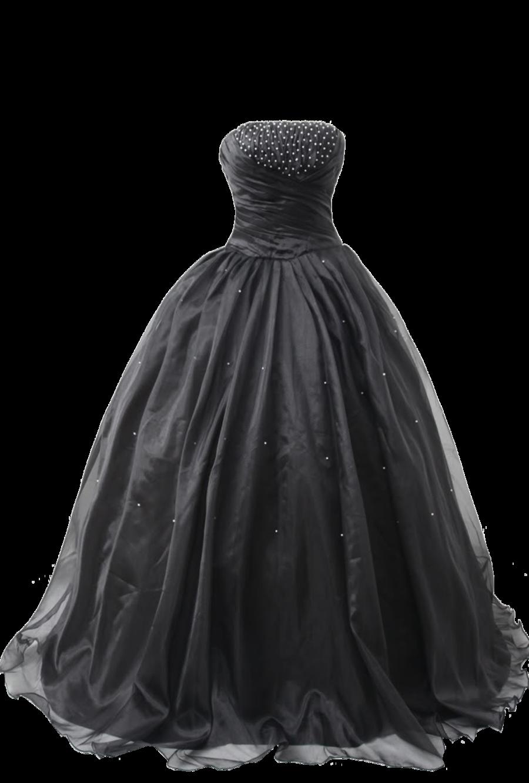 Black Ball Gown 4 Png By Vixen1978 On Deviantart Black Ball Gown Ball Gowns Gowns